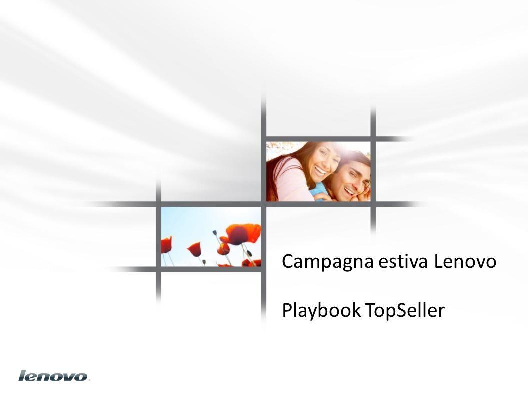Campagna estiva Lenovo Playbook TopSeller