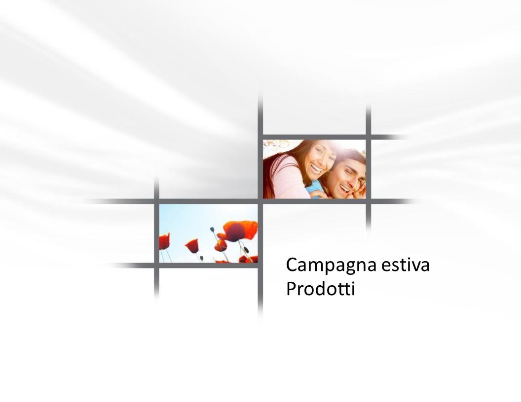 Campagna estiva Prodotti