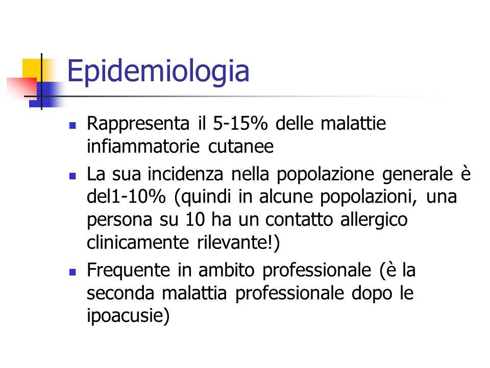 Epidemiologia Rappresenta il 5-15% delle malattie infiammatorie cutanee La sua incidenza nella popolazione generale è del1-10% (quindi in alcune popol