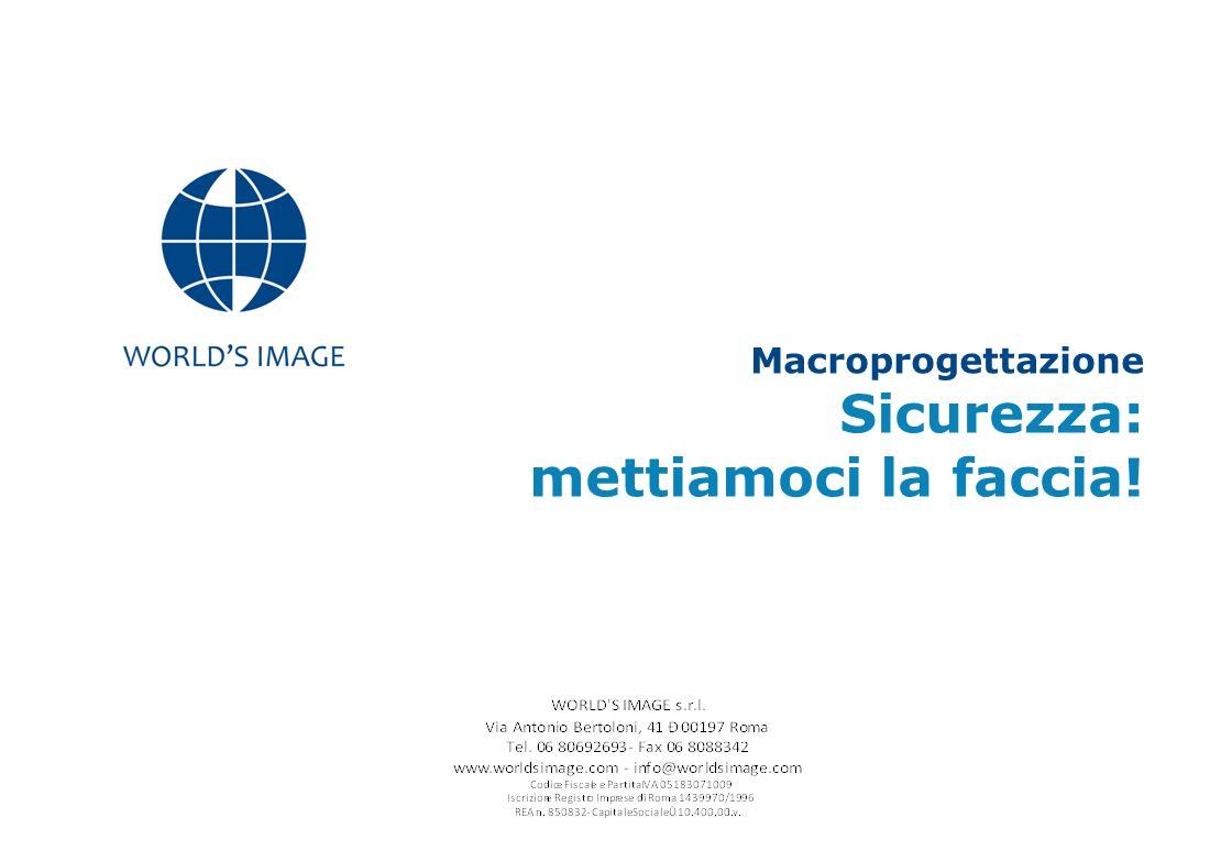 Macroprogettazione Sicurezza: mettiamoci la faccia!