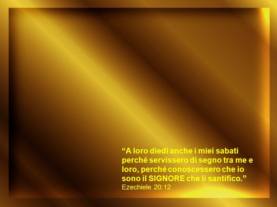 Poi disse loro: «Il sabato è stato fatto per l uomo e non l uomo per il sabato; perciò il Figlio dell uomo è signore anche del sabato».