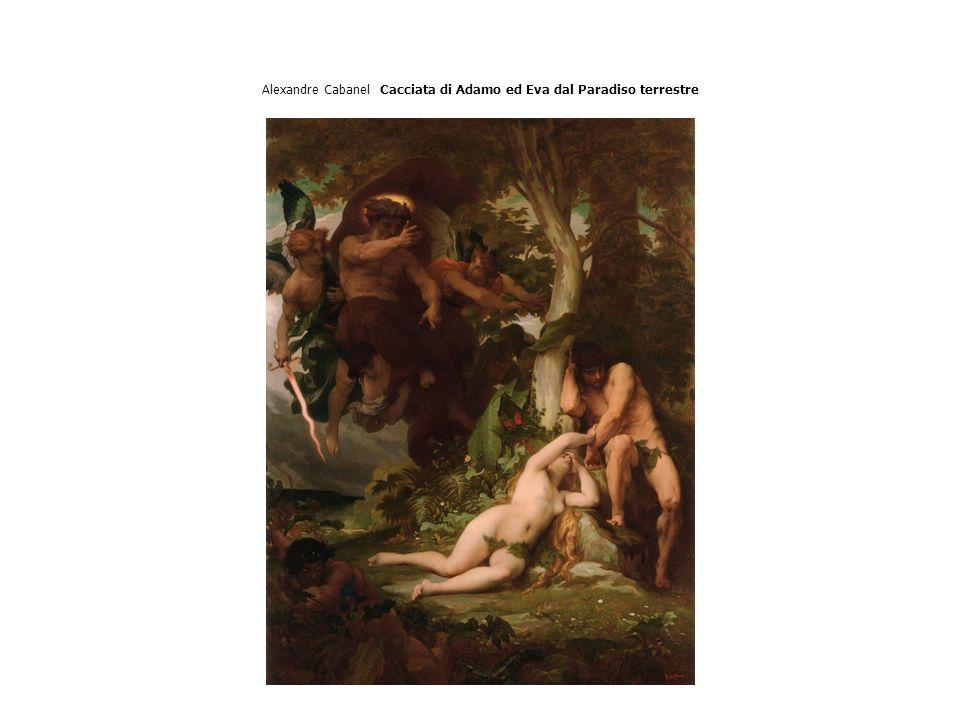 Alexandre Cabanel Cacciata di Adamo ed Eva dal Paradiso terrestre
