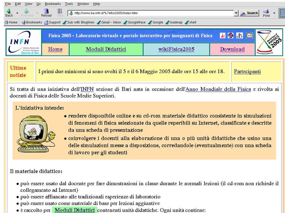 Comunicare Fisica, Frascati 24-27 Ottobre 2005 11