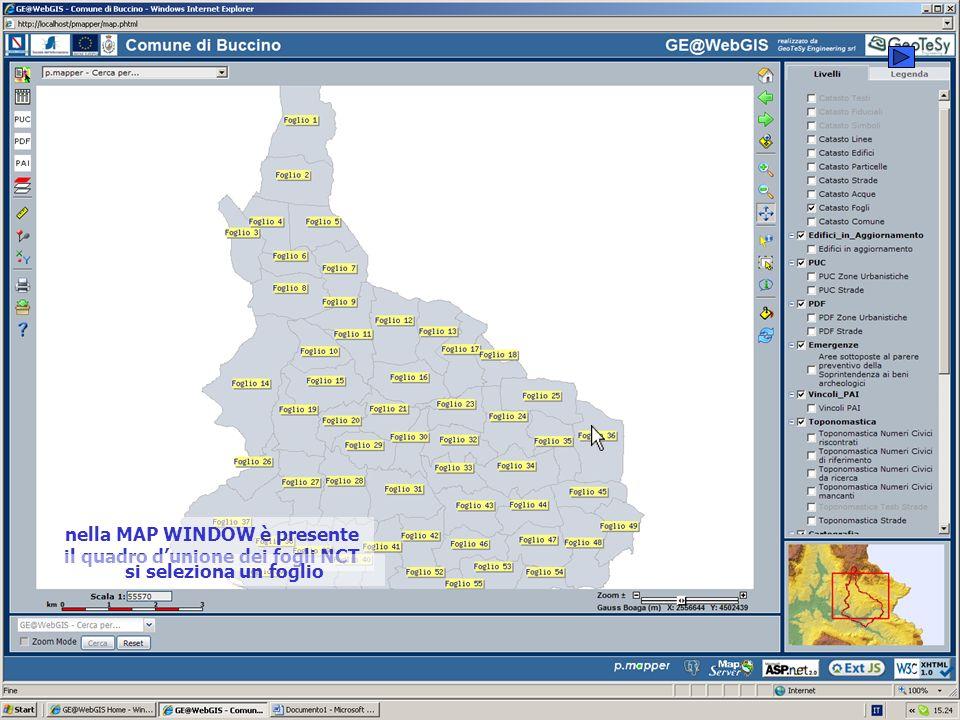 con WEBGIS è possibile effettuare ricerche sia per via GRAFICA che per via ALFANUMERICA si parte dalla RICERCA PER OGGETTO GRAFICO si raggiunge il dettaglio desiderato