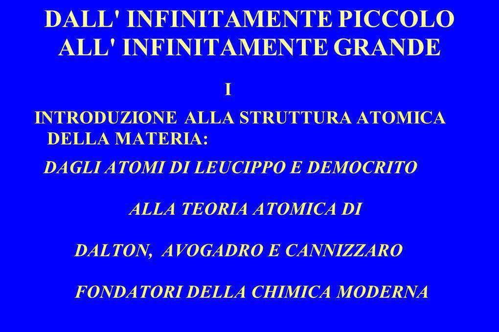 DALL INFINITAMENTE PICCOLO ALL INFINITAMENTE GRANDE SPETTRO DELLE ONDE ELETTROMAGNETICHE