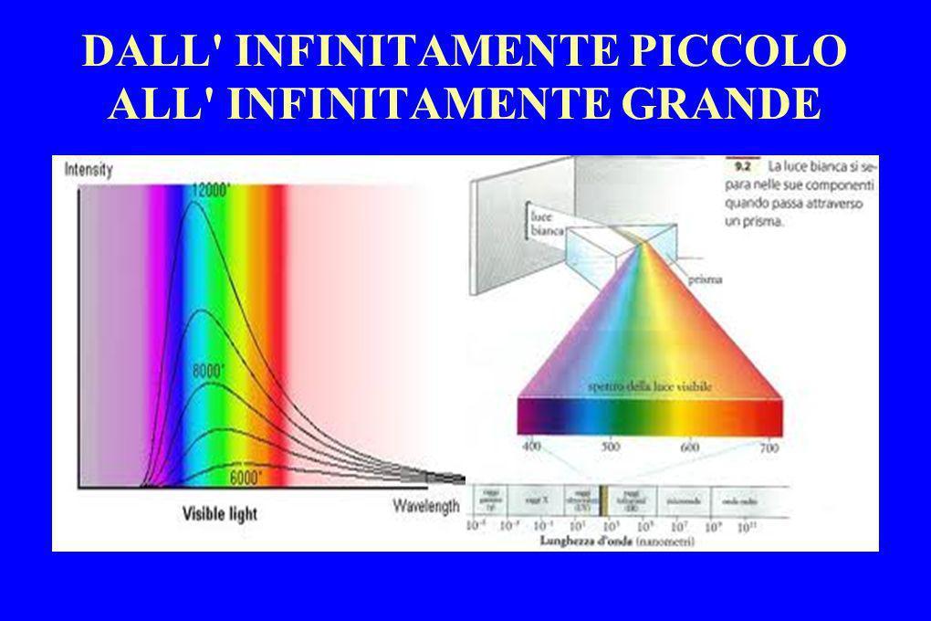 DALL' INFINITAMENTE PICCOLO ALL' INFINITAMENTE GRANDE