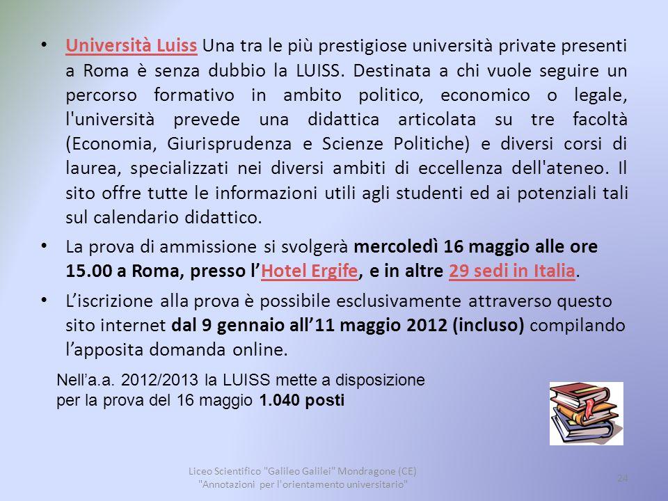 Pontificia Università Lateranense La Pontificia Università Lateranense è una delle università private cattoliche italiane.