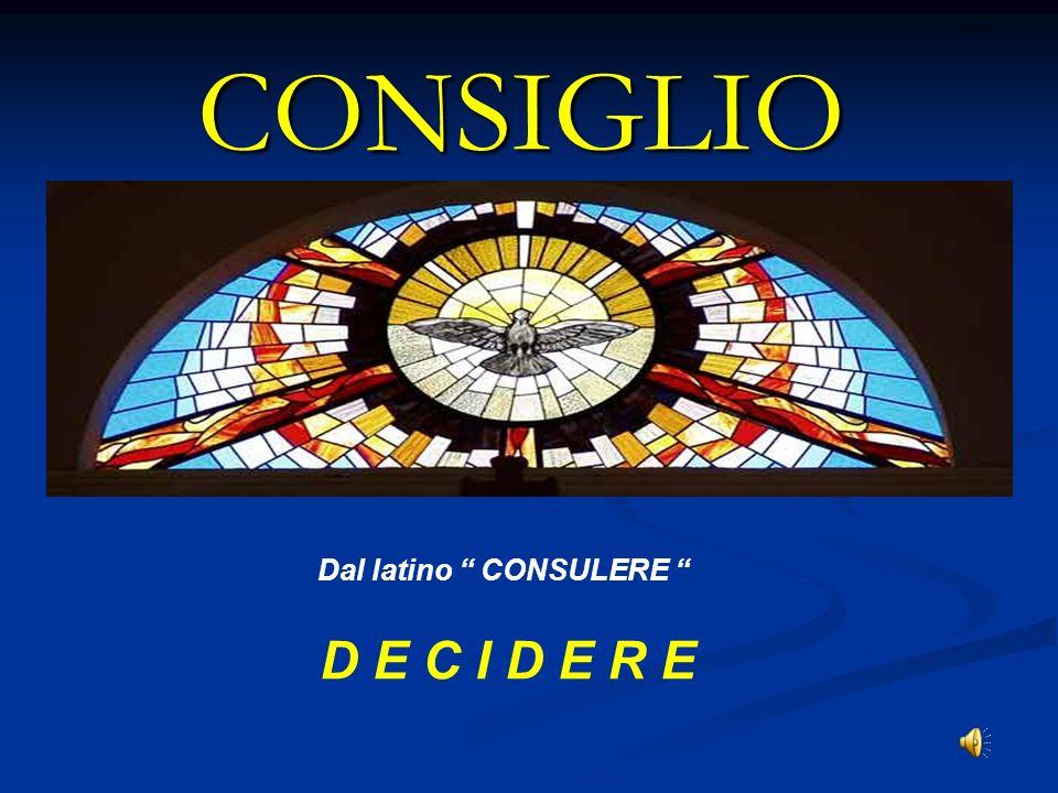 Come accogliere lo Spirito di Consiglio IL > (Cf 1 Gv 2,27) E LUI: > (Philipon).