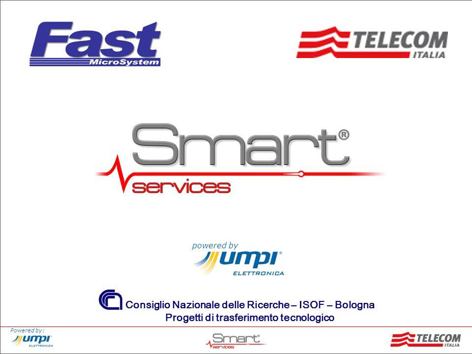 Powered by: Servizio che sfrutta le potenzialità della tecnologia PLC (Power Line Communication), una tecnologia per la trasmissioni di voce e/o dati che utilizza la rete di alimentazione elettrica.
