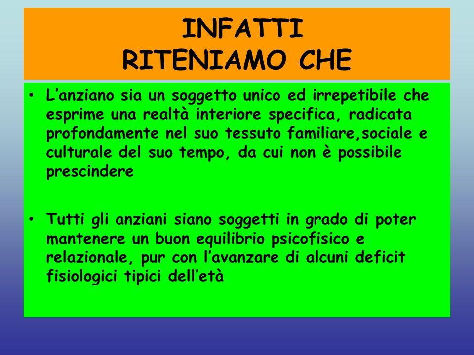 INFATTI RITENIAMO CHE Lanziano sia un soggetto unico ed irrepetibile che esprime una realtà interiore specifica, radicata profondamente nel suo tessut