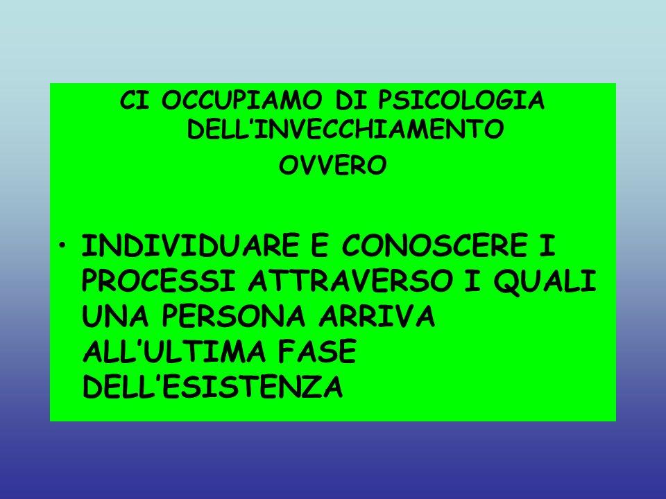 INTERPRETARE I MECCANISMI ATTRAVERSO I QUALI LANZIANO MANTIENE LEQUILIBRIO PSICOFISICO