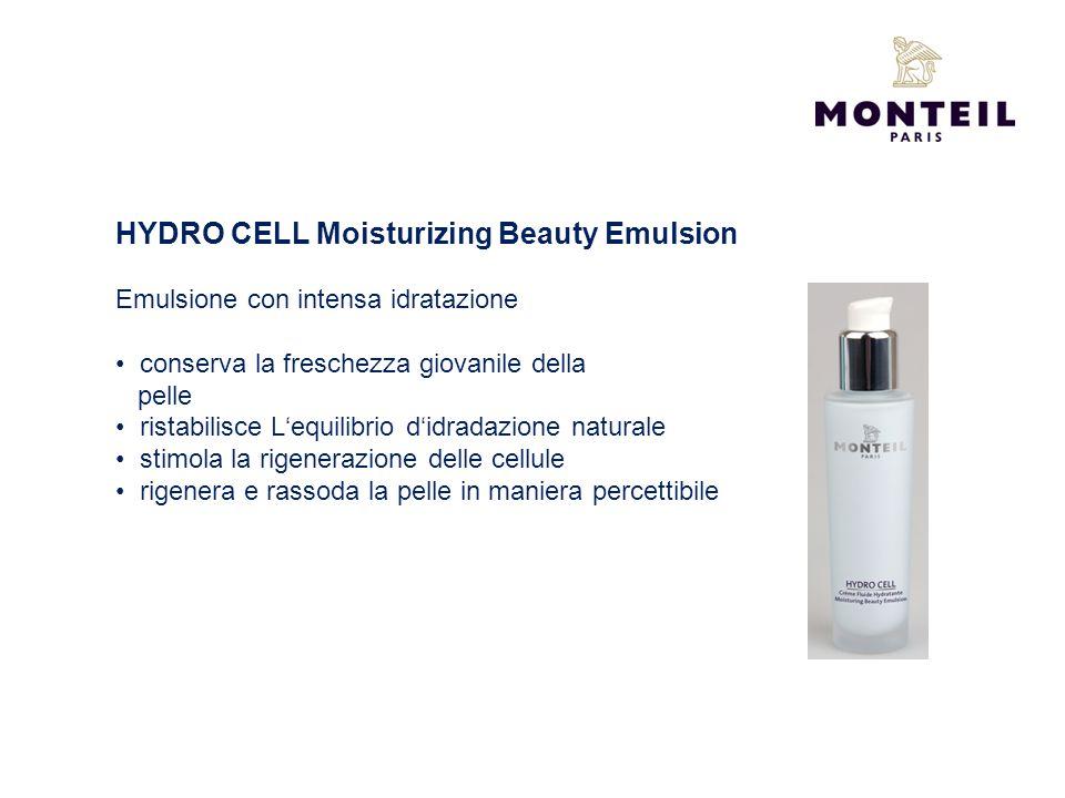 HYDRO CELL Moisturizing Beauty Emulsion Emulsione con intensa idratazione conserva la freschezza giovanile della pelle ristabilisce Lequilibrio didrad