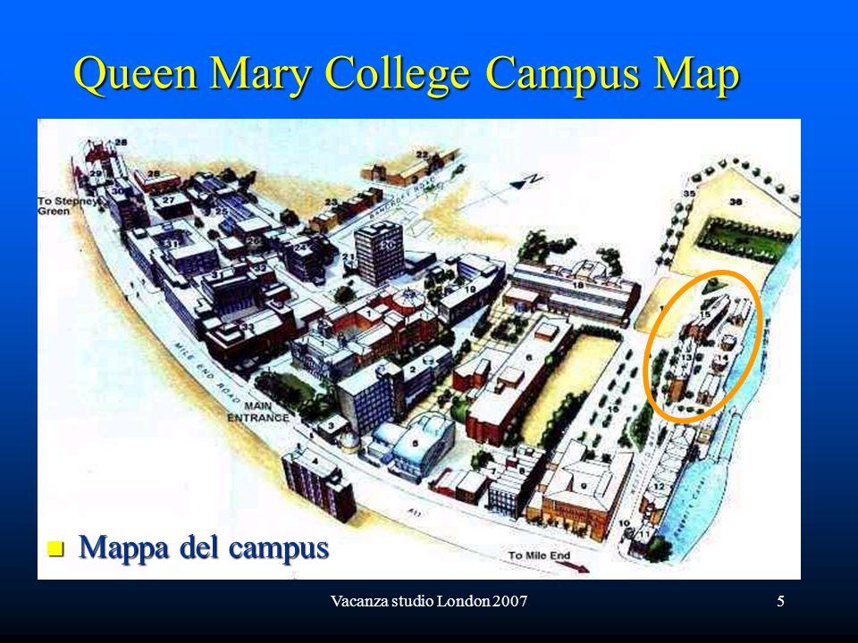 Vacanza studio London 200716 Vedute interne del college: punto dincontro degli studenti