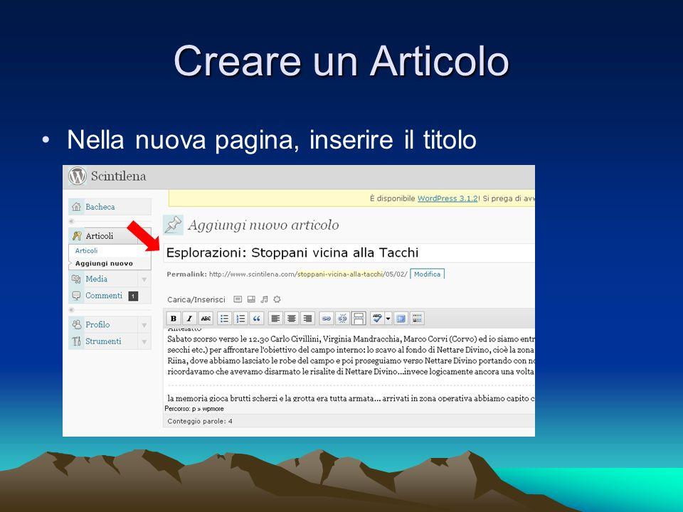 Extra: Inserimento di un link Nella finestrella che si apre inserire il link e definire se il browser deve aprire il link in una nuova finestra, poi clicca su Inserisci