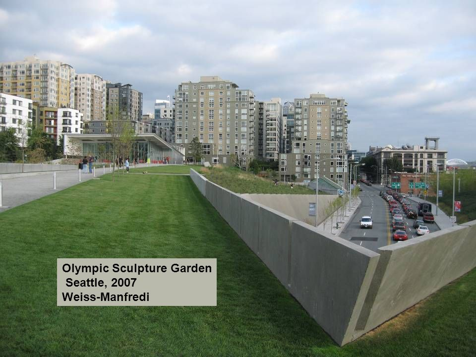 Olympic Sculpture Garden Seattle, 2007 Weiss-Manfredi