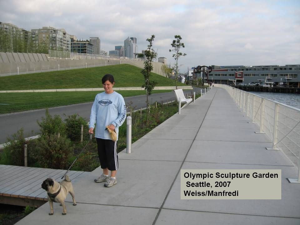 Olympic Sculpture Garden Seattle, 2007 Weiss/Manfredi