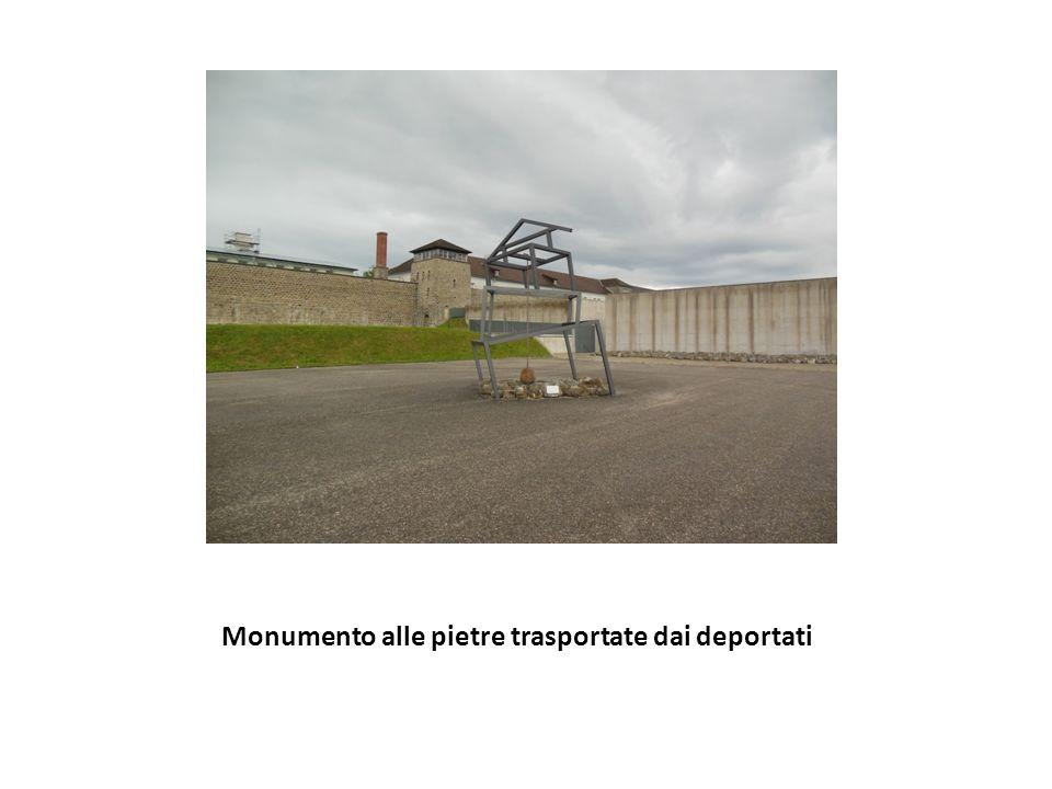 Monumento alle pietre trasportate dai deportati