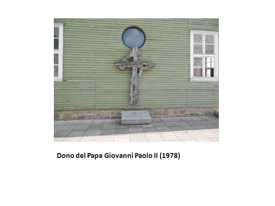 Dono del Papa Giovanni Paolo II (1978)