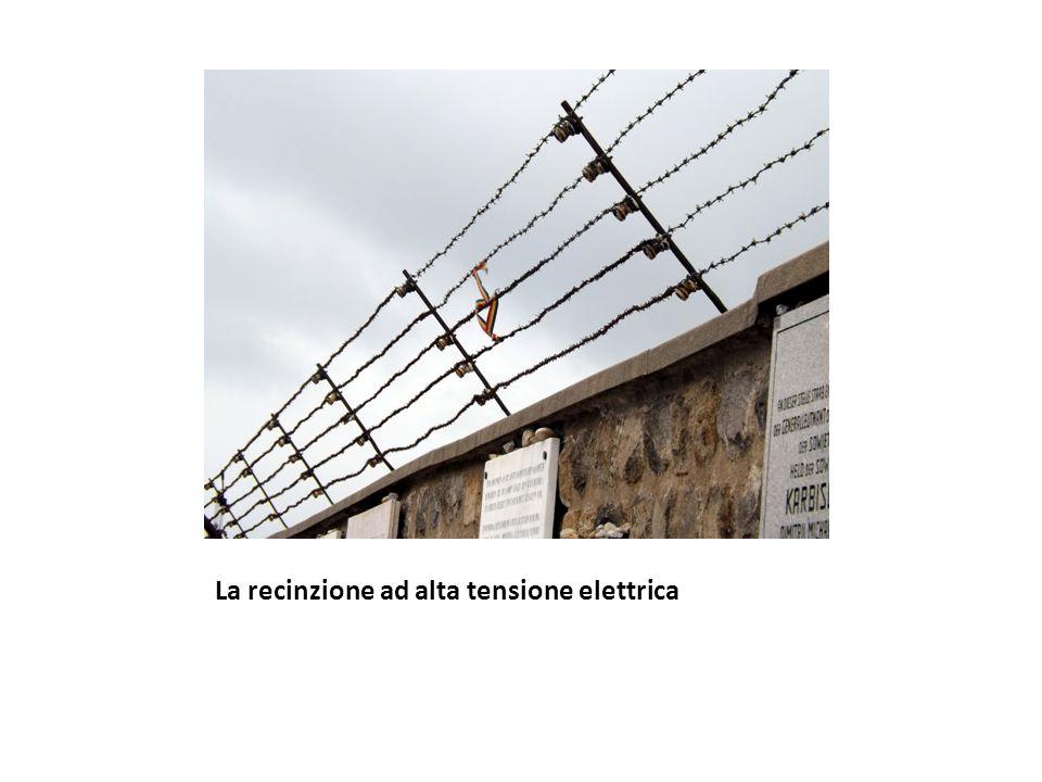 La recinzione ad alta tensione elettrica