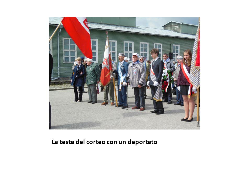 Locali con i letti dei deportati