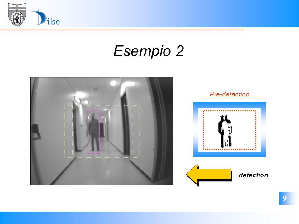 1 9 Esempio 2 Pre-detection detection