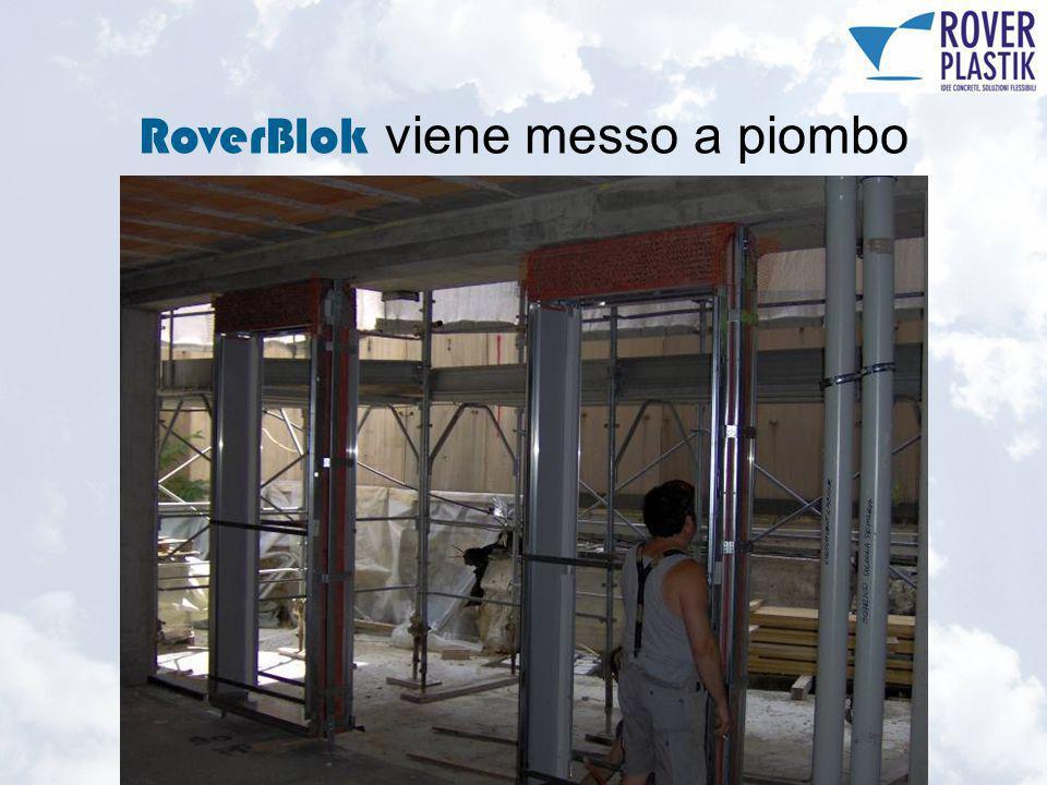 RoverBlok viene messo a piombo