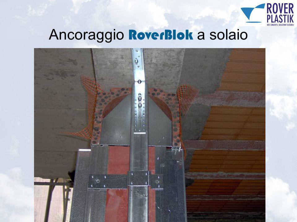 Ancoraggio RoverBlok a solaio