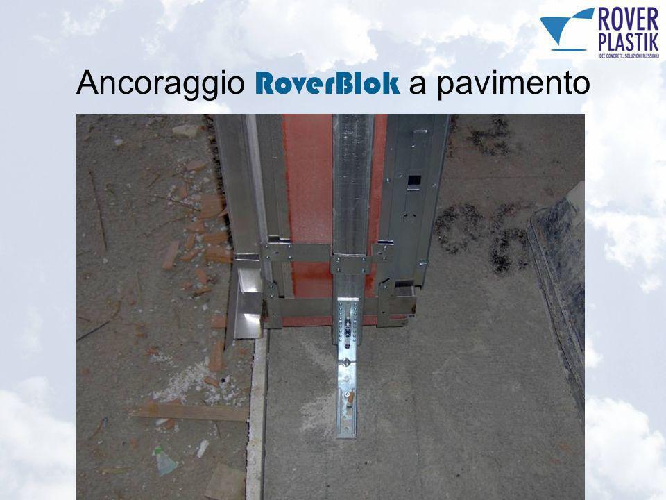 Ancoraggio RoverBlok a pavimento