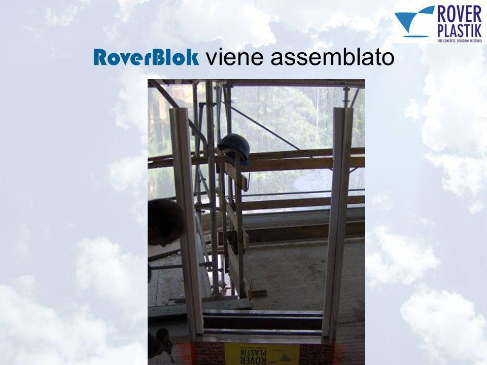 RoverBlok preparato per assemblaggio sottobancale