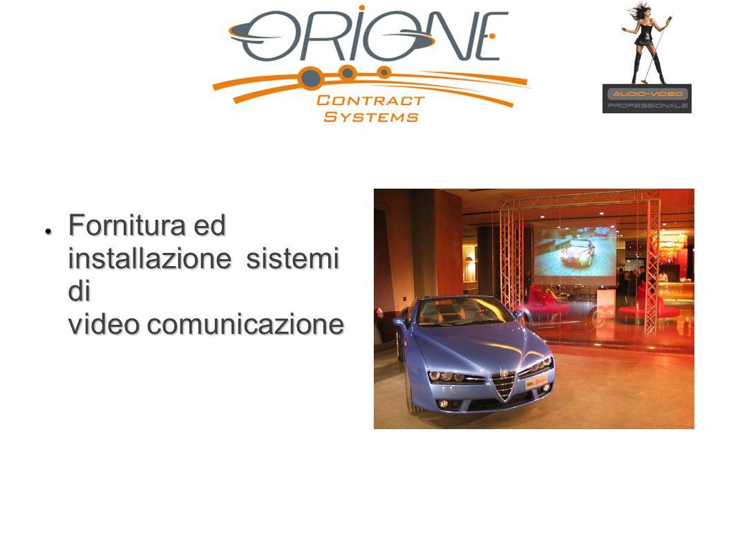 Fornitura ed installazione sistemi di video comunicazione Fornitura ed installazione sistemi di video comunicazione