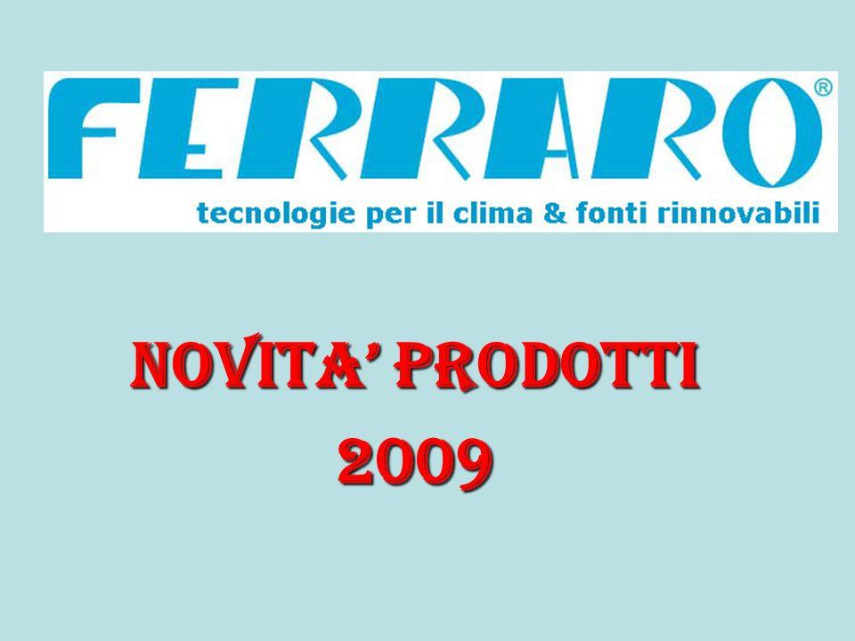 NOVITA PRODOTTI 2009