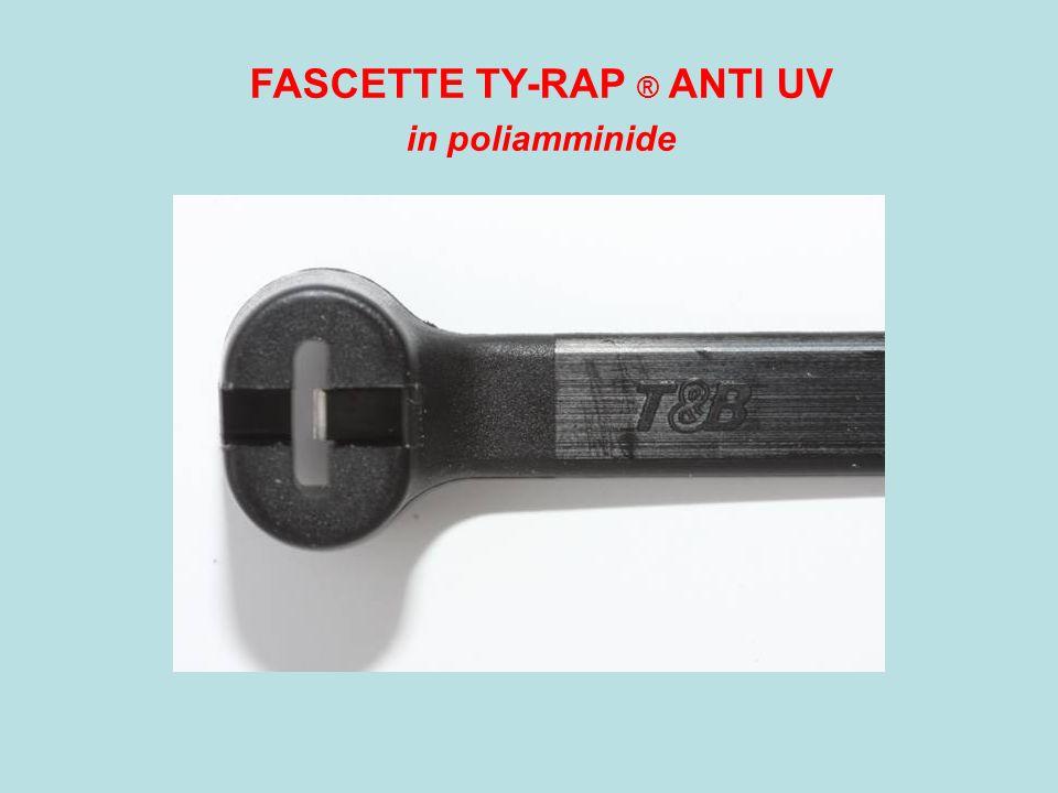 FASCETTE TY-RAP ® ANTI UV in poliamminide