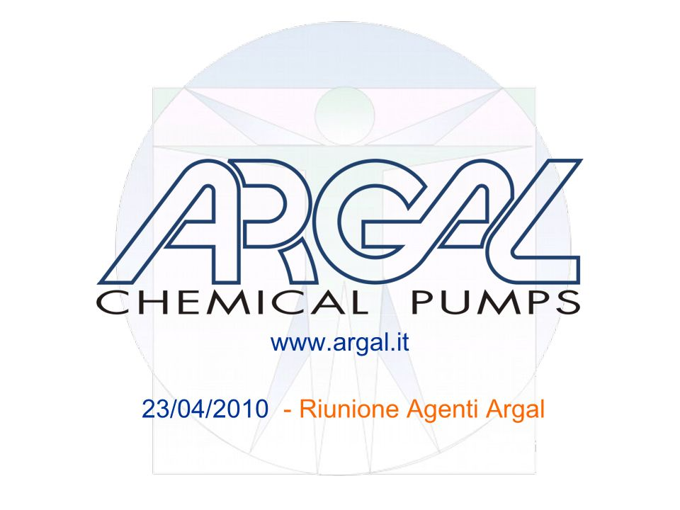 www.argal.it 23/04/2010 - Riunione Agenti Argal