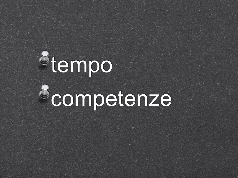 tempo competenze tempo competenze