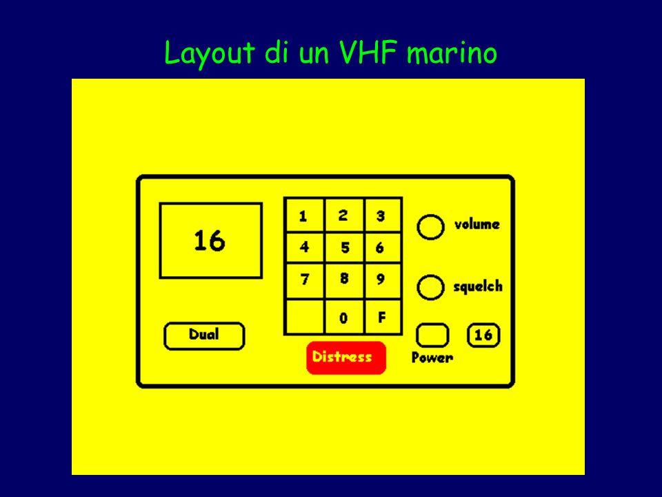 Layout di un VHF marino