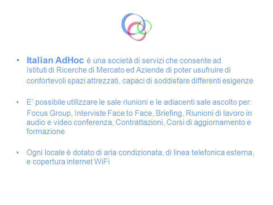 Italian AdHoc nasce come azienda moderna, ma con esperienza storica.