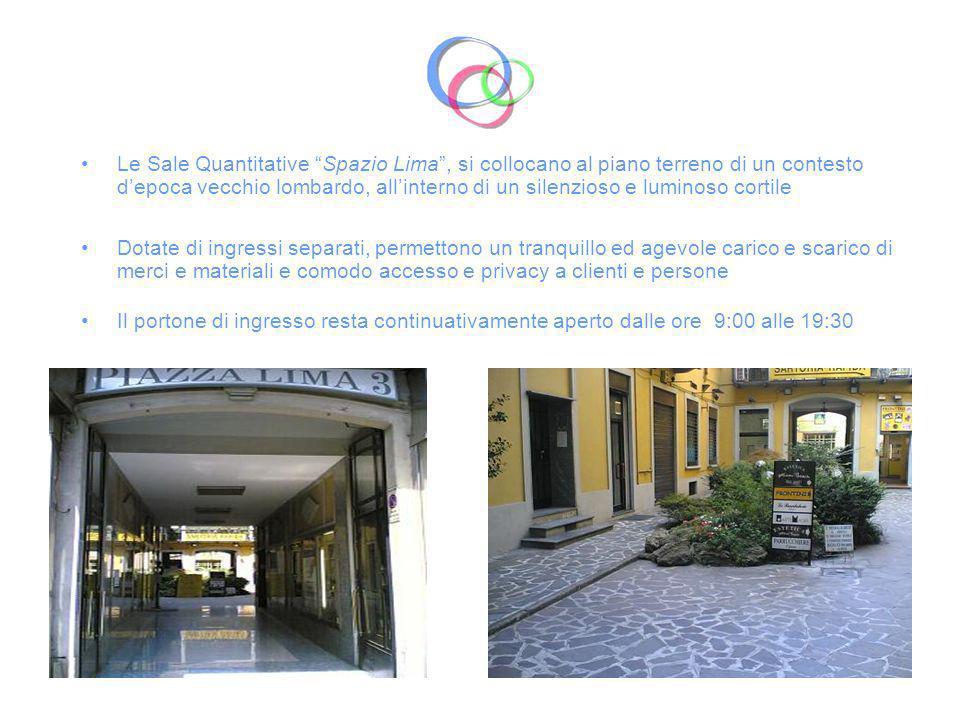 Italian AdHoc dispone di Spazio Lima: Unarea di 110 mq servita da rete internet Wifi e prese RJ45 -> Sala Quantitativa Sole: 60 mq ca.
