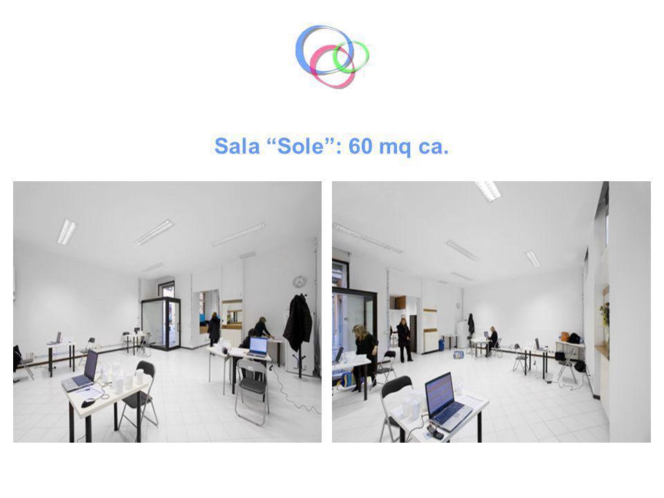 Sala Luna: 35 mq ca.