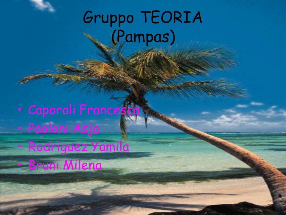 Caporali Francesca Paoloni Asja Rodriguez Yamila Bruni Milena Gruppo TEORIA (Pampas)