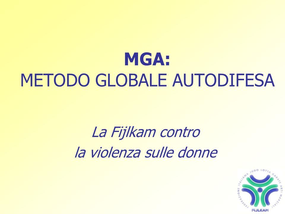 MGA: METODO GLOBALE AUTODIFESA La Fijlkam contro la violenza sulle donne