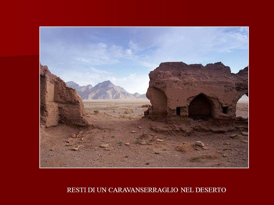 RESTI DI UN CARAVANSERRAGLIO NEL DESERTO