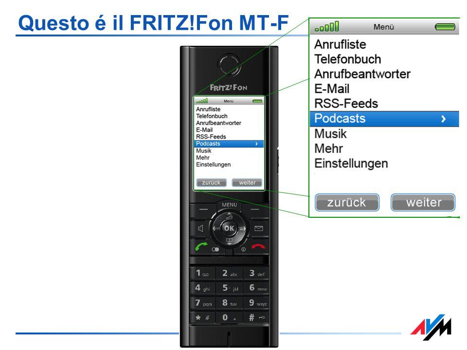 Questo é il FRITZ!Fon MT-F