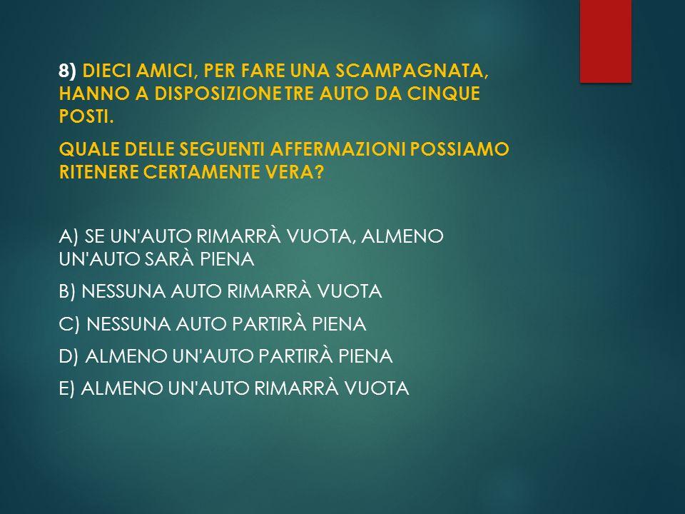 6) TANCREDI E NINA SONO DUE STRANI CUGINI.