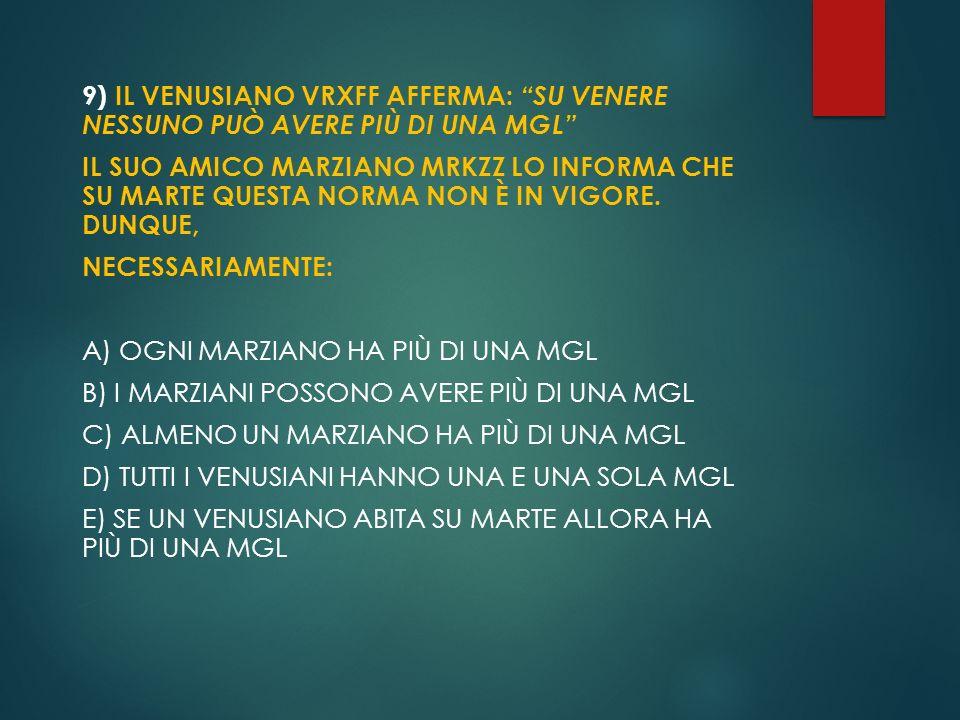 7) IL NUOVO SALONE DELLA CONTESSA VIENDALMARE HA UN PAVIMENTO QUADRATO DI 11 METRI DI LATO.