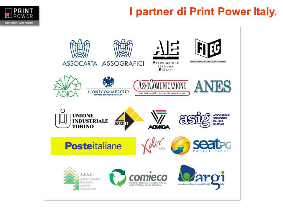 I partner di Print Power Italy.