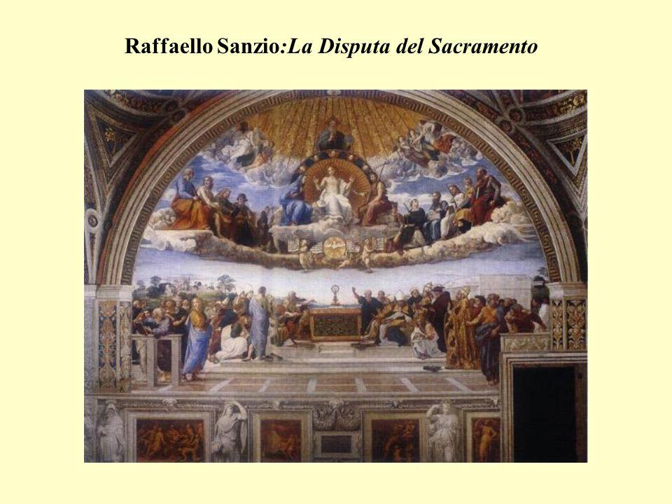 Raffaello Sanzio:La Disputa del Sacramento