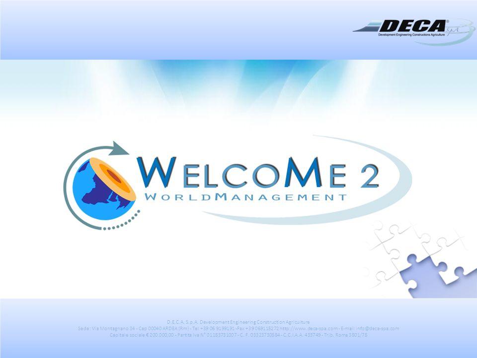 Configurazione SERVIZIO - AZIENDA Apposite interfacce improntate in modalità wizard Aiutano il fornitore ed il cliente alla configurazione del proprio profilo.