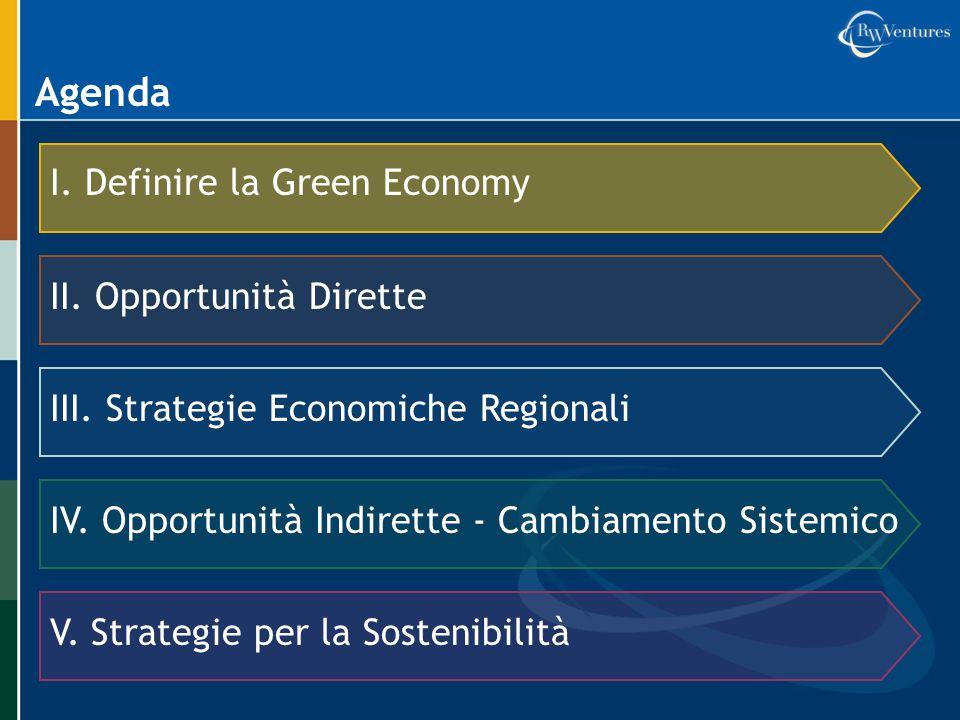 Esempio: Inserirsi nella filiera verde Un fornitore automobilistico ha creato una linea di campane del cambio per produttori di energia eolica.