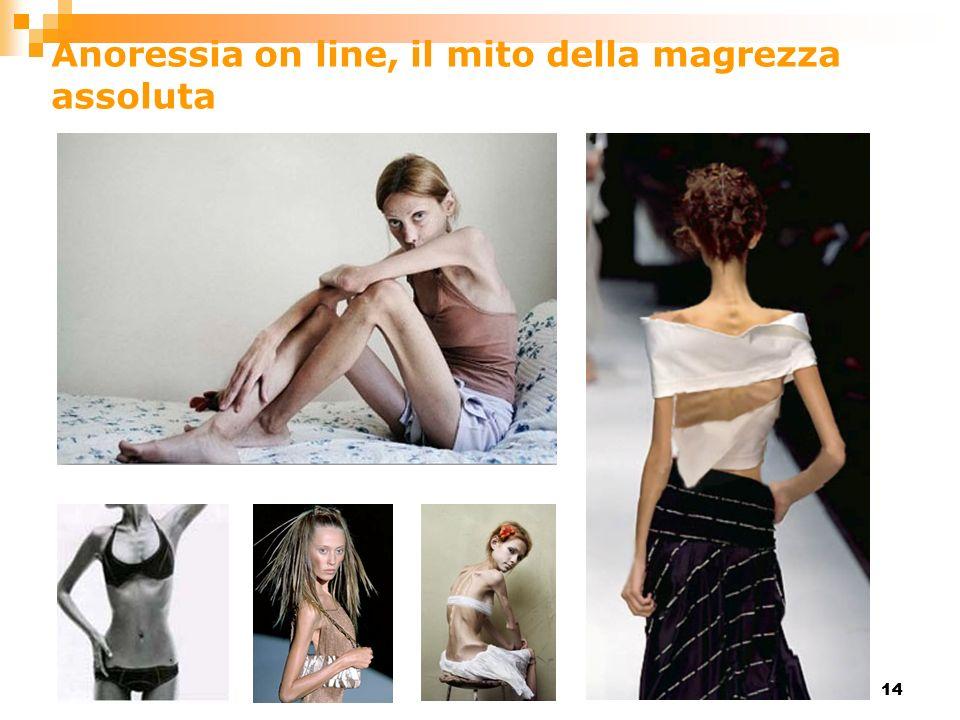 14 Anoressia on line, il mito della magrezza assoluta