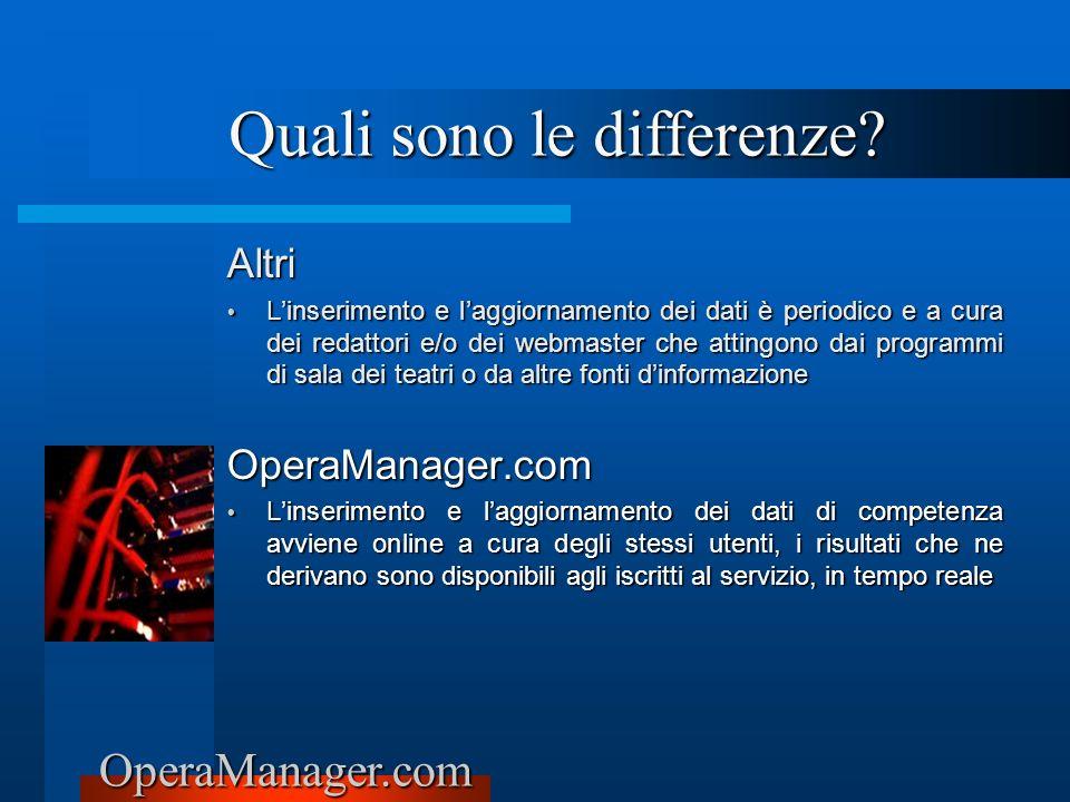 OperaManager.com Altri Linserimento e laggiornamento dei dati è periodico e a cura dei redattori e/o dei webmaster che attingono dai programmi di sala